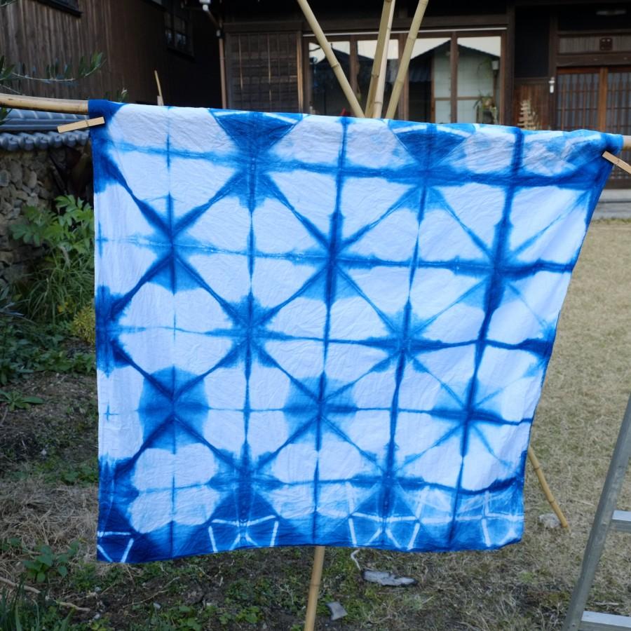 藍染風呂敷