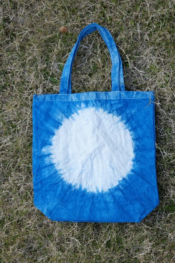 藍染トートバッグ